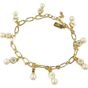 Kate Spade Pearly Delight Charm Bracelet 🌺